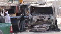 Atac la Kabul cu un camion cu explozibili