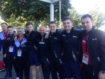 Echipa masculina de tenis de masa a Romaniei