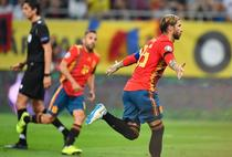 Sergio Ramos inscrie pe Arena Nationala
