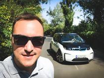 Adrian Mitrea si BMW i3