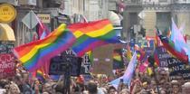Prima parada gay la Sarajevo