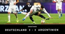 Amical intre Germania si Argentina