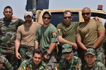 Kurzi YPG si soldati americani