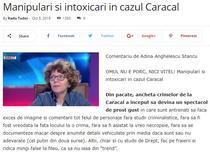 Anghelescu - articol pe Radu-tudor.ro