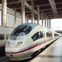 Tren spaniol de mare viteza al RENFE