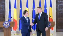 Ludovic Orban si Klaus Iohannis