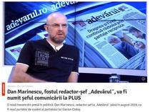 Libertatea despre Dan Marinescu