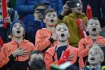 Copii pe Arena Nationala, la meciul Romania vs Norvegia