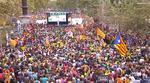 Protest masiv in Barcelona
