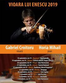 """Turneul """"Vioara lui Enescu"""" 2019"""