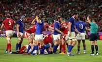 Tara Galilor a invins Franta la CM de rugby