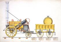 Celebra locomotiva Rocket