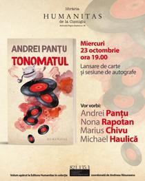 Tonomatul, povestiri fantastice de Andrei Panțu