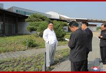 Kim Jong Un la Kumgang