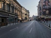 Circulatie oprita pe Calea Victoriei