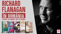 Scriitorul Richard Flanagan vine in Romania