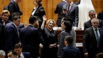 Dancila, in Parlament (digi24)