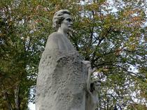 Statuia lui Mihai Eminescu din parcul Mihai Eminescu