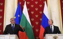 Premierul bulgar Boiko Borisov alaturi de Vladimir Putin