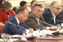 Aurescu, audieri Parlament