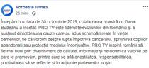 Anunt Pro TV - Dana Budeanu