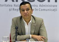 Sorin Grindeanu, presedinte ANCOM