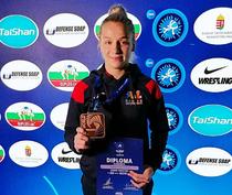 Andreea Beatrice Ana, medaliata cu bronz la CM U23 de lupte