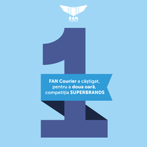 FAN Courier, desemnat Superbrand