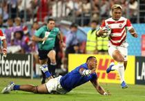 Japonia a invins Samoa la CM de rugby