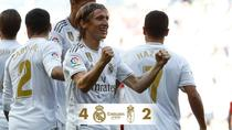 Real Madrid vs Granada 4-2