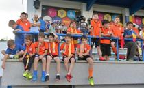 Copii la meciul nationalei
