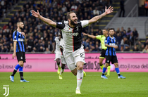 Gonzalo Higuain, gol impotriva lui Inter