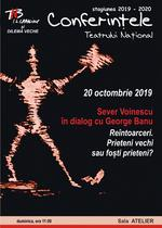 Sever Voinescu în dialog cu George Banu