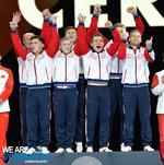Echipa masculina de gimnastica a Rusiei