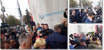 Dancila, asteptată de protestatari la Timisoara