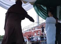 Pedeapsa publica in Indonezia