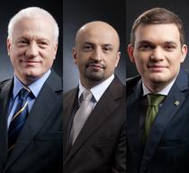Valeriu Stoica, Dragos Bogdan si Mihai Stanescu