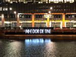 Mesaj românesc în Canary Wharf
