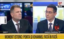 Iohannis și Ponta