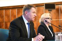 Klaus Iohannis cu Viorica Dancila