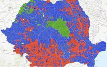 Rezultatele alegerilor prezidentiale pe UAT