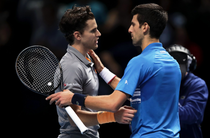 Dominic Thiem si Novak Djokovic