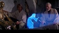 holograma printesei Leia