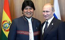 Vladimir Putin si Evo Morales