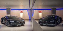 Intr-un showroom Bugatti