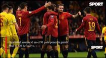 Spania vs Romania, 5-0