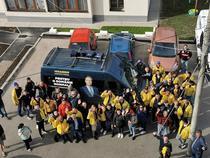 Microbuz campanie Iohannis