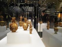 Expozitia de obiecte chinezesti din aur de la Muzeul National de Istorie