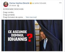 Facebook, Viorica Dancila