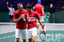 Viktor Troicki si Novak Djokovic
